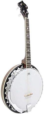 4 String 17 Fret 30 Bracket Koda FBJ3417 Tenor Banjo for Intermediate Players Irish Banjo with Bag