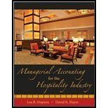 Managerial Accounting for the Hospitality Industry W/ CD- Set, Dopson, 0470258659