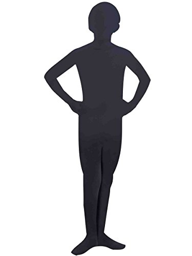 Forum Novelties I'm Invisible Bodysuit, Black, Child's -