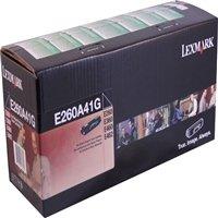Lexmark Black Toner Cartridges E260A41G
