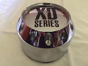 KMC-XD-Series-Wheel-Center-Cap-464K106-905K106-S504-35-NEW-Chrome-Rim-Middle