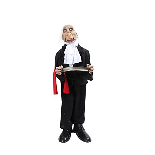 Damjic Halloween Witch Ghost Candy Props Tricky Products Housekeeper 10030CM Male