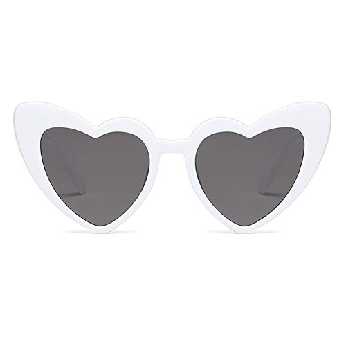 sol de Hzjundasi de del mujeres Gafas de de sol Cat C5 Gafas Mod estilo las gafas del corazón sol retro las de de Eye xxwfZ4qr5
