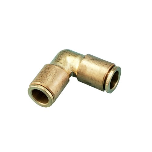 Orbit 5 Pack 3/8 Inch Brass Slip-Lok 90 Degree Elbow for Misting Systems by Orbit