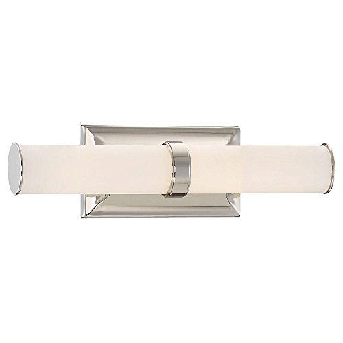 Good Lumens by Madison Avenue 23838 Polished Nickel LED Bath Vanity Light-23838