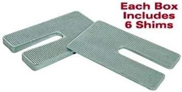 1.5 Degree 2.5 Width x 5 Length Zinc SPC Performance 10423 Axle Shim