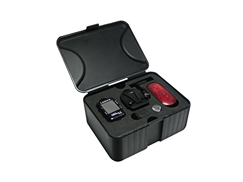 Lezyne Micro Gaps Hrsc Loaded GPS, Black, One (Ext Run Time Battery)
