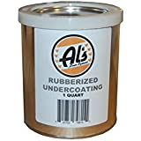 Al's Liner Black ALS-UCR Premium DIY Rubberized Undercoating, Quart, 32. Fluid_Ounces