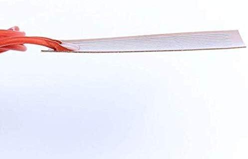4er Pack 12V 7W Flexibler Polyimid Heizplattenkleber PI Heizfolie 25mmx50mm
