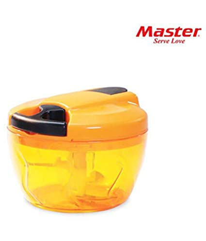 Master Polypropylene (PP) Kitchen Manual Chopper Vegetable Cutter with Pull  Chord Technology- 3