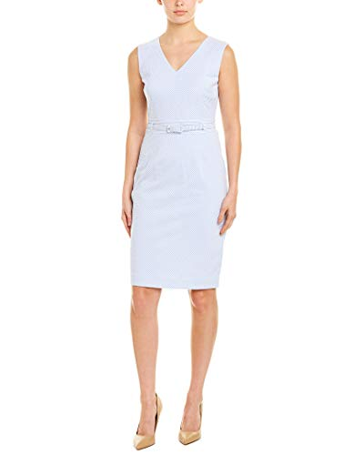 Brooks Brothers Model - Brooks Brothers Womens Sheath Dress, 4, Blue