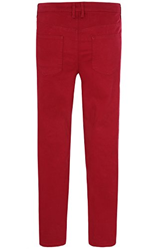 sheego Ladies Stretch Jeans in oversize rosso 460881