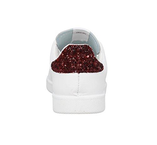 Victoria Deportivo Piel, Zapatillas de Baloncesto para Mujer Blanc