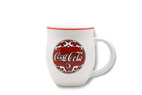 youngs Inc Ceramic Coca Cola Mug, Multi