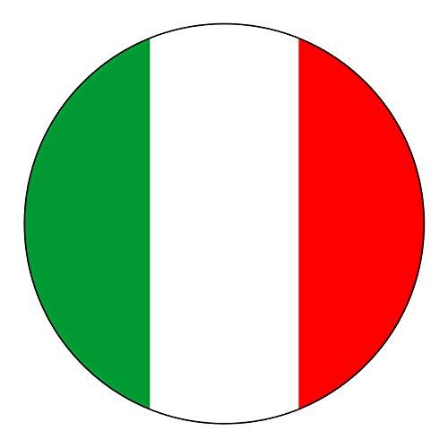 italian stickers hardhat - 3