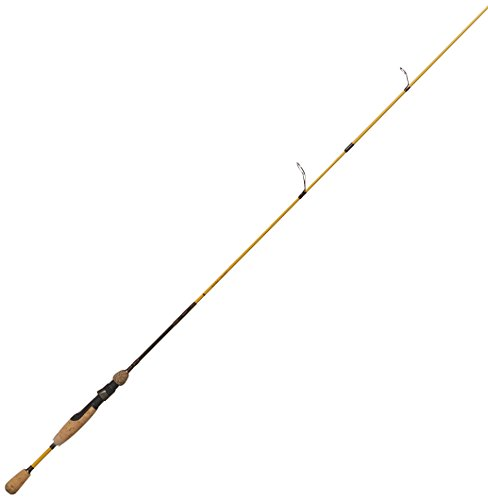 Eagle Claw Powerlight IM-7 Light Spinning Rod, 2 Piece (Yellow, 6-Feet)