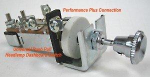 Buick 1949-53, Cadillac 1948-50 Push Pull Headlight Lamp Dashboard Switch to Dim
