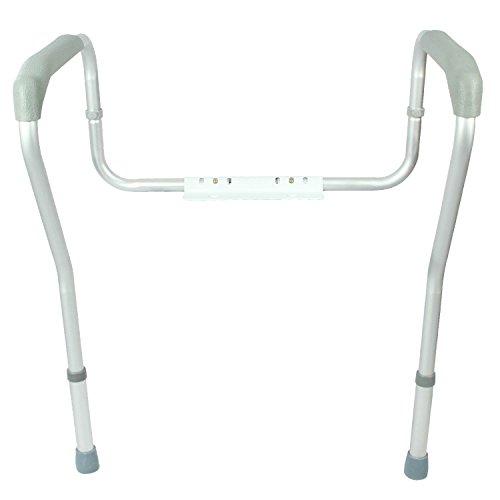 toilet rail by vive bathroom safety frame for elderly
