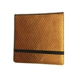 Legion 12 Pocket Binder 3x4 Dragonhide Gold
