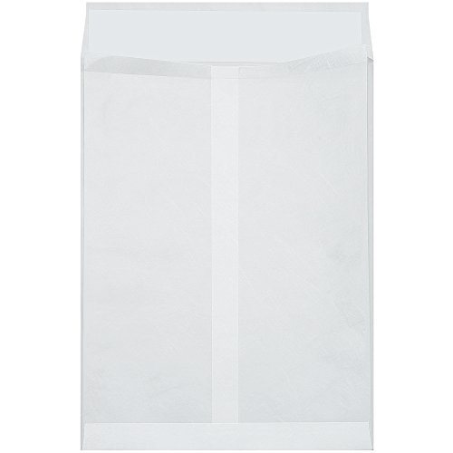 """Ship Now Supply SNTYE10131WE Tyvek Expandable Envelopes, 10"""" x 13"""" x 1 2"""", 10"""" width, 1.5"""" Height, 13"""" Length, White (Pack of 100)"""