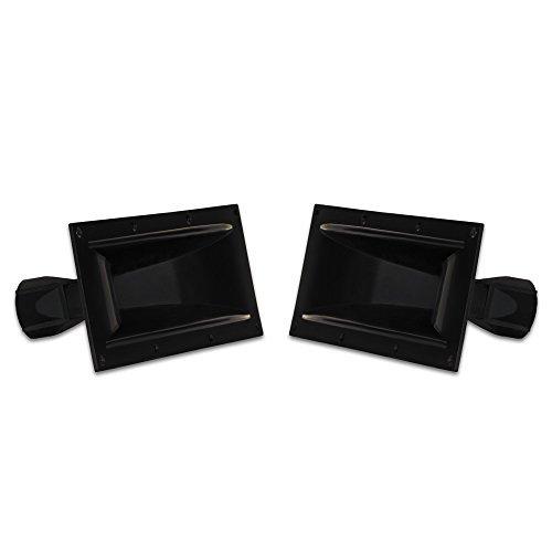 2 Goldwood Sound GM-600PB Heavy Duty ABS Directivity Horns Molded Horn Lenses Directivity Horn