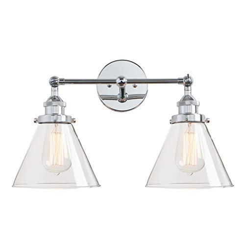 vintage industrial antique 2 lights