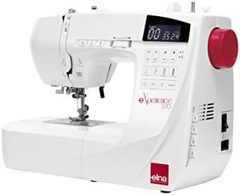 Máquina de coser Elna Experience 570 – Garantía 5 años: Amazon.es ...