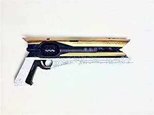 MINGSHAO New Hand Cannon Foam Gun 1:1 Scale Prop Does Not Shoot Video Game Anime Gift Replicas