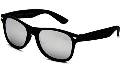 Price comparison product image Retro Vintage Horned Rim Classic Blue Brothers Kids Fashion Sunglasses Rubber Finish