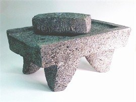 Metate Y Mano (Mortar And Ground Stone)