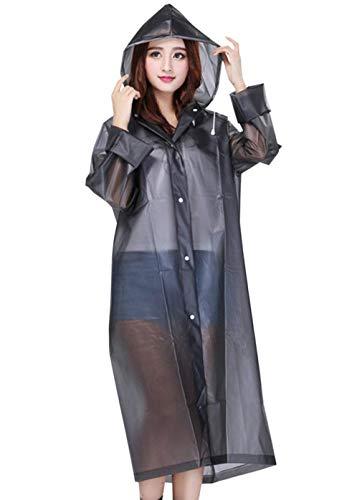 Veste Femmes Mode Chic Extérieure De Capuche Avec Des Unie Grau Imperméable Couleur Cordon Manteau Pluie À Tranchée pWqwrInfp
