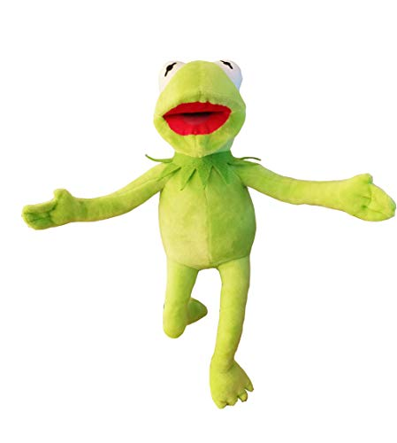 (illuOKey Kermit The Frog Plush Doll, The Muppets Movie Soft Stuffed Plush Toy, 16 inches)