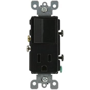 Leviton 5647-A 15 Amp, 120 Volt, Decora Style Single-Pole ... on