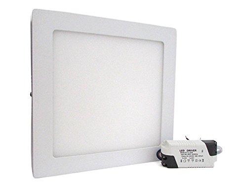 Plafoniere Quadrate Da Parete : Plafoniera faretto led da soffitto muro parete quadrata w