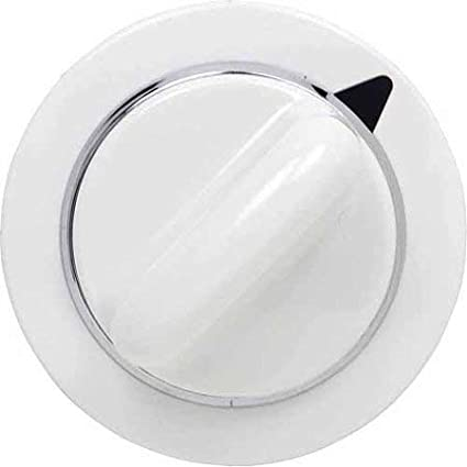 GE Replaces Part Numbers AP3995088 WE1M654 Timer Knob Replacement for General Electric White Dryers by PartsBroz and EA1482197 1264290 AH1482197