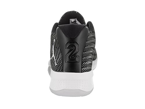 Schwarz Schwarz B Weiß Dunkelgrau Nike Grau Basketballschuhe Fly Herren Jordan 010 wRUREq01X