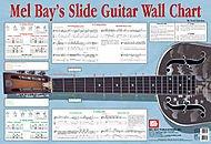 (Mel Bay Slide Guitar Wall Chart)