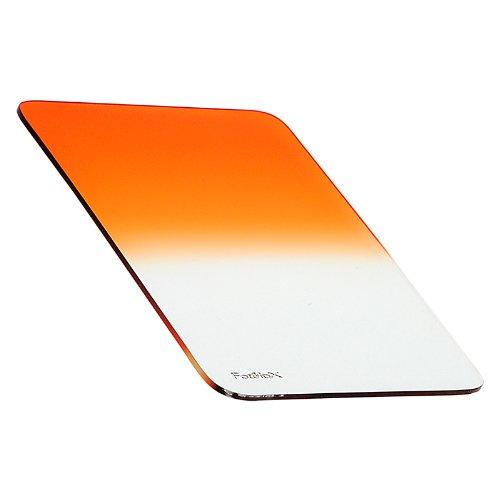 Fotodiox Pro 100mm Graduated Sunset Orange Filter for Fotodiox Pro 100mm Filter Holder - also fits Cokin Z-Pro (L) Series Filter Holder by Fotodiox