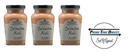 Stonewall Kitchen All Natural Aioli Sriracha 10.25 oz  (Pack of 3) by Stonewall Kitchen
