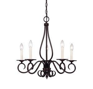(Savoy House KP-95-5-13 Five Light Chandelier)