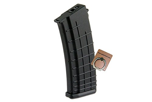 - CYMA 330rds Hi-Cap Beta Magazine for AKM / AK AEG Airsoft series -Mobile Ring Included