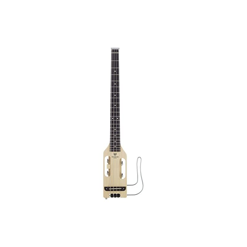 Traveler Guitar Ultra-Light Acoustic-Electric Travel Bass with Gig Bag