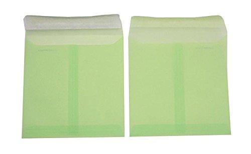 Farbige Transparent-Hüllen   Premium   160 160 160 x 160 mm Grün (100 Stück) mit Abziehstreifen   Briefhüllen, KuGrüns, CouGrüns, Umschläge mit 2 Jahren Zufriedenheitsgarantie B01CES7LLQ | Überlegen  | Fein Verarbeitet  | Sehr gelobt un d69f86