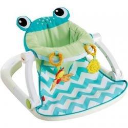 Fisher-Price Sit-Me-Up Floor Seat - Citrus Frog