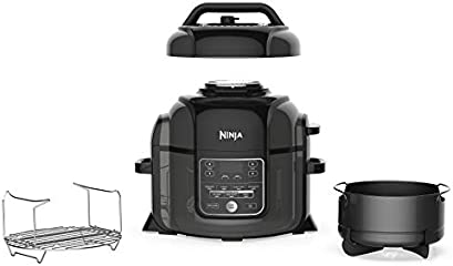 Today only and while supplies last, save on Ninja OP301 Pressure Cooker, Steamer & Air Fryer w/TenderCrisp Technology...