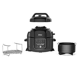 ninja foodi 1400 watt multi cooker pressure cooker steamer air fryer w. Black Bedroom Furniture Sets. Home Design Ideas