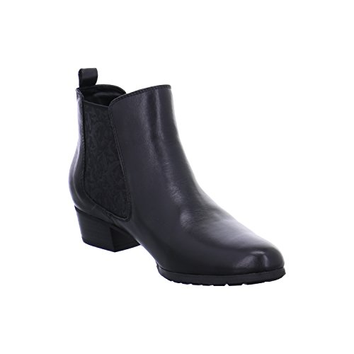 Gerry Weber Shoes Caren 03 - botas chelsea de cuero mujer schwarz