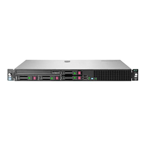 HPE 823562-B21 ProLiant DL20 Gen9 Server, 8 GB RAM, No HDD, Black