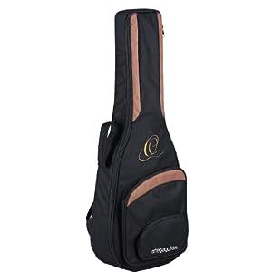 Ortega Guitars ONB34 hochwertige Konzertgitarren Tasche 3/4 Größe mit Rucksackgarnitur schwarz
