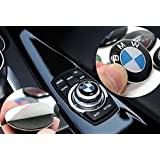 BMW Botón interior de sonido para controlador multimedia iDrive con insignia, 29mm